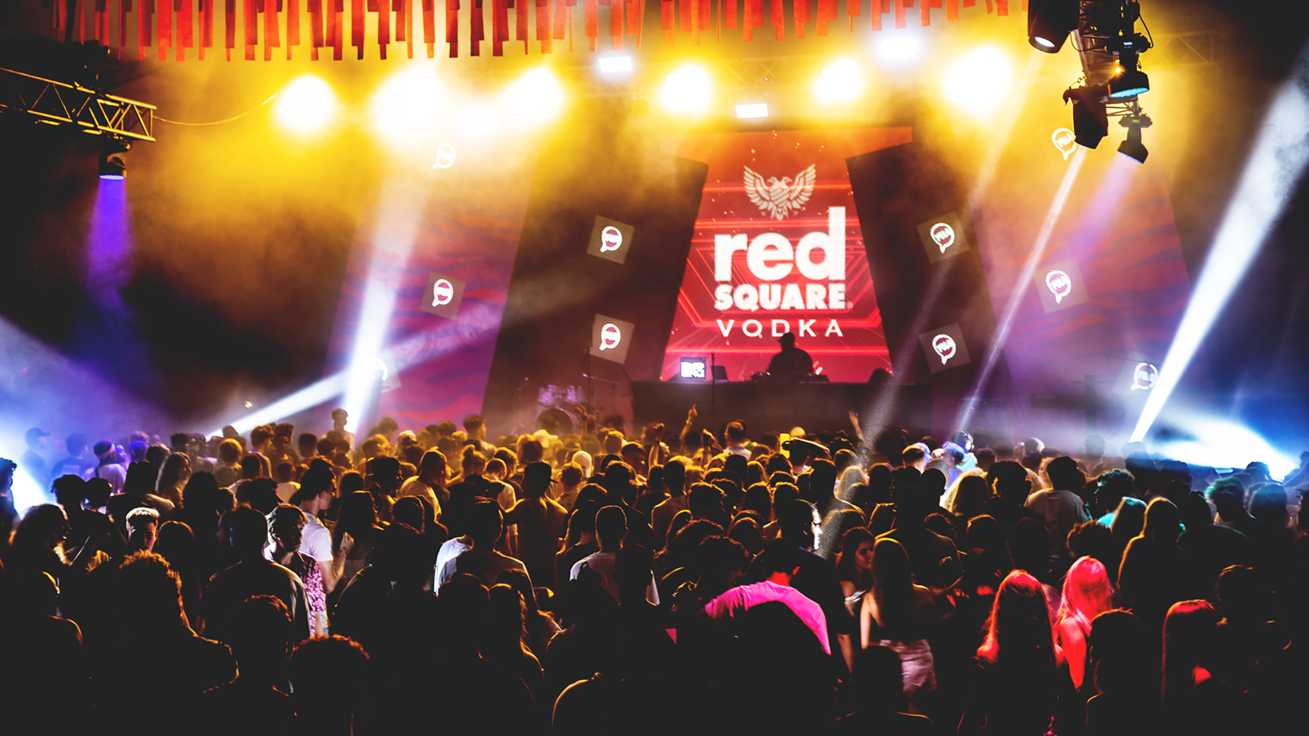 Red Square Drinks Rage Festival