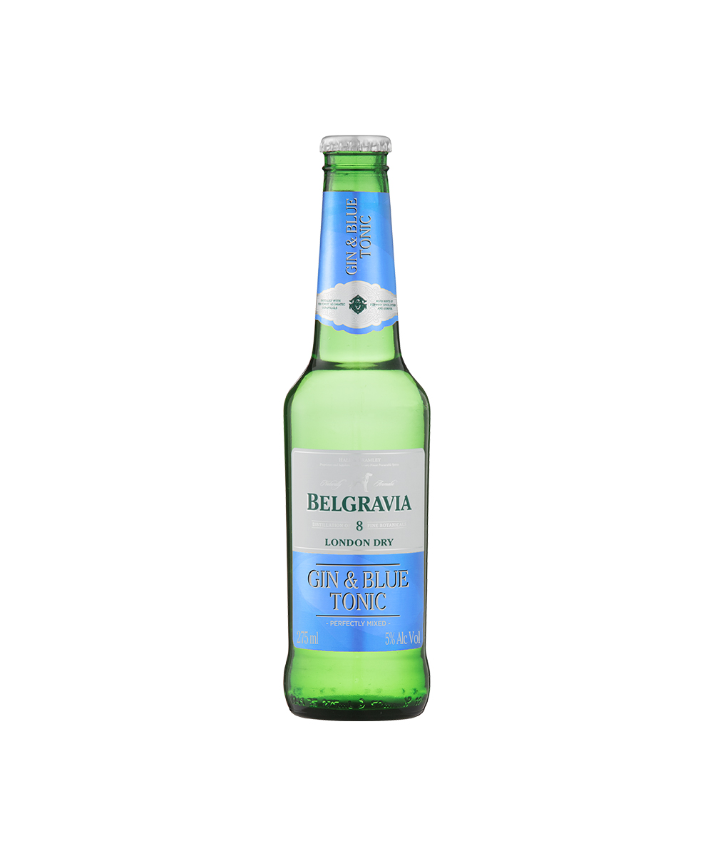 Belgravia Gin & Blue Tonic 275ml