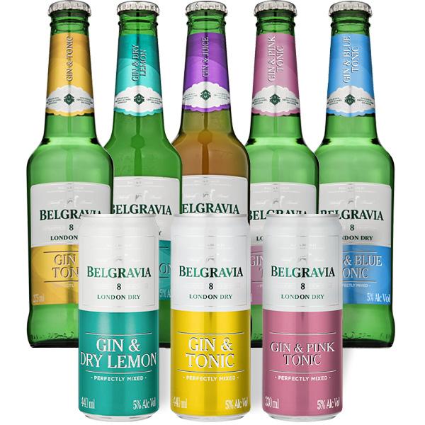 Belgravia Gin RTD's
