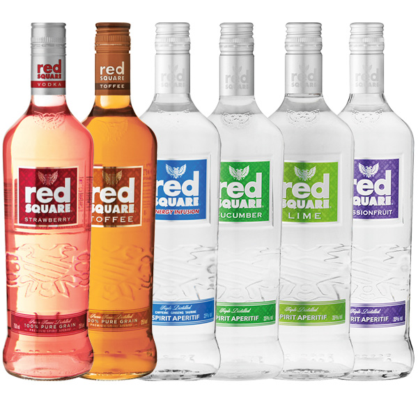 Red Square Flavoured Vodka