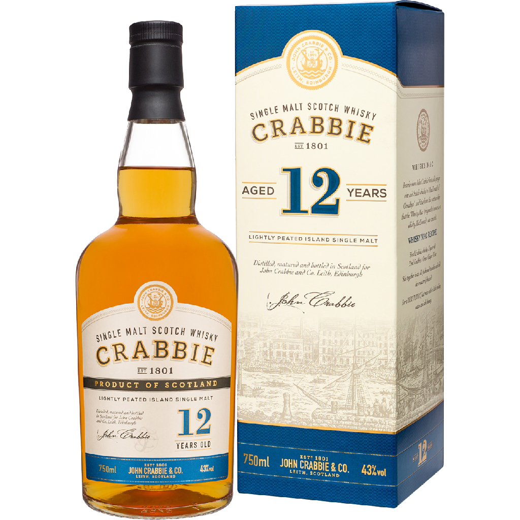 Crabbies 12 Year Old Whiskey 750ml